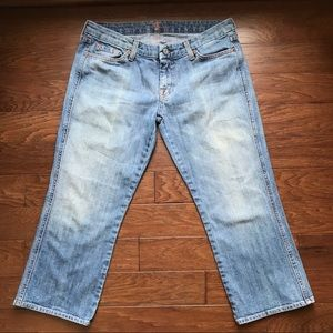 7 FAM | Cropped Jeans, Size 30